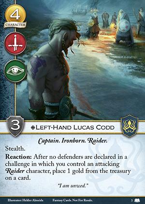 Left-Hand Lucas Codd