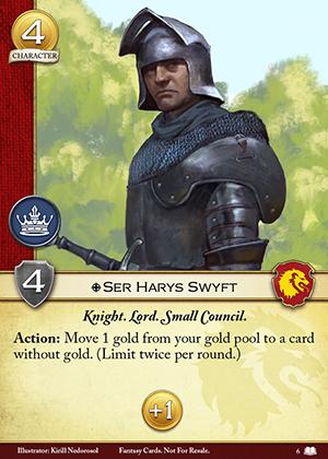 Ser Harys Swyft