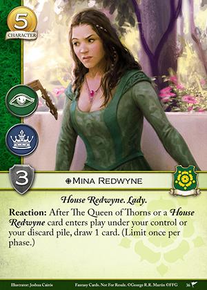 Mina Redwyne