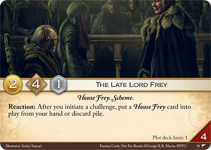 The Late Lord Frey