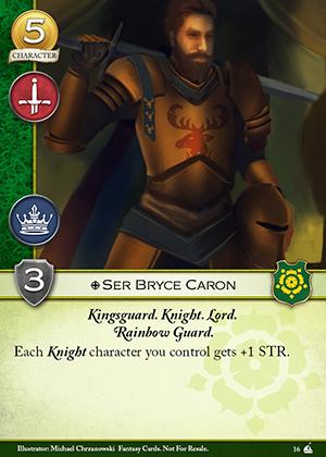 Ser Bryce Caron