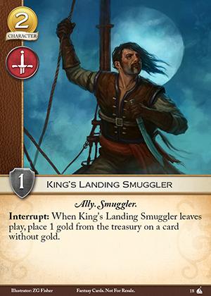 King's Landing Smuggler