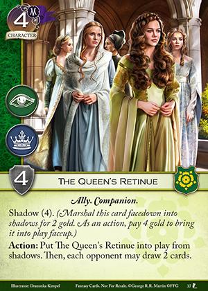 The Queen's Retinue