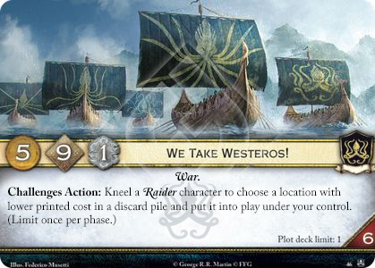 We Take Westeros!